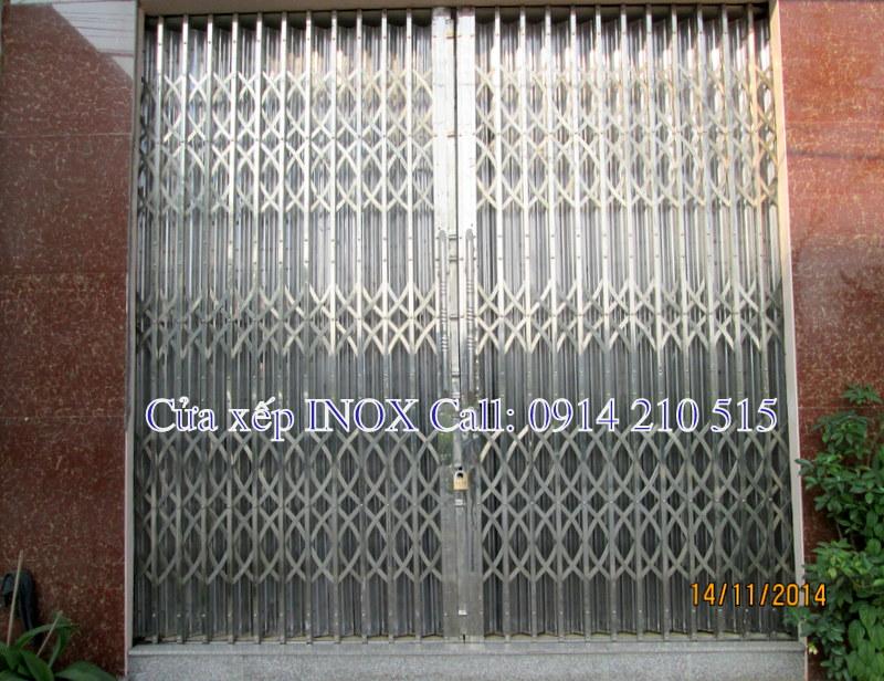 Chuyên gia công lắp đặt các loại cửa xếp inox, cổng xếp, cửa kéo