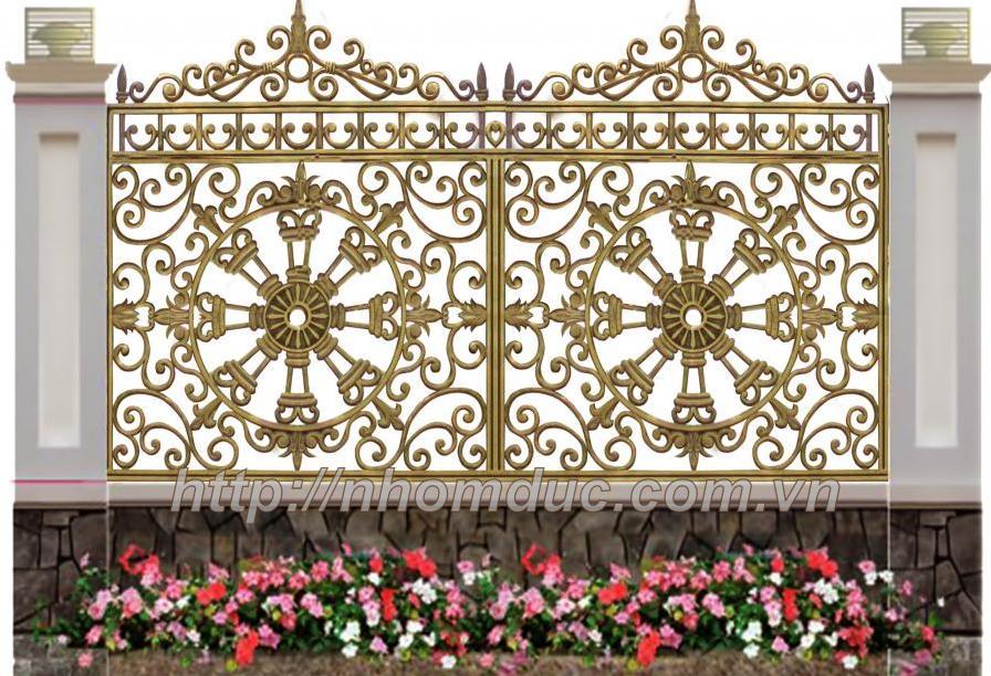 giá hàng rào nhôm đúc, báo giá các loại mẫu hàng rào nhôm đúc hợp kim với nhiều mẫu mã hàng rào đa dạng nhất hiện
