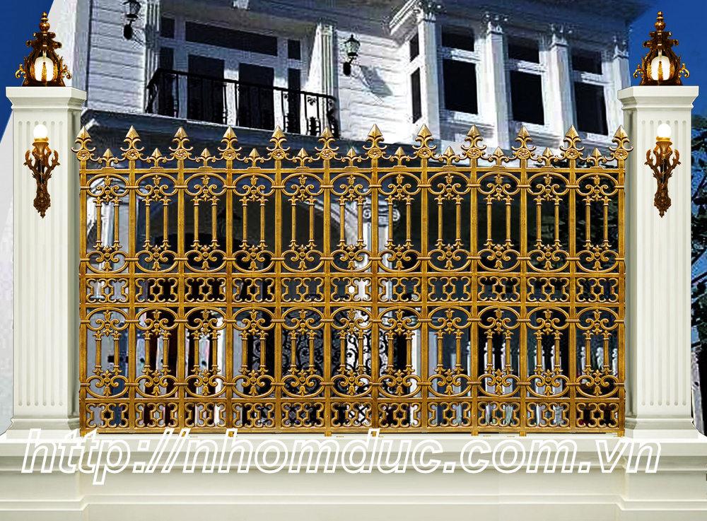các mẫu sản phẩm hàng rào nhôm đúc cao cấp. Các mẫu hàng rào nhôm đúc này phù hợp với các biệt thự, nhà có kiến trúc