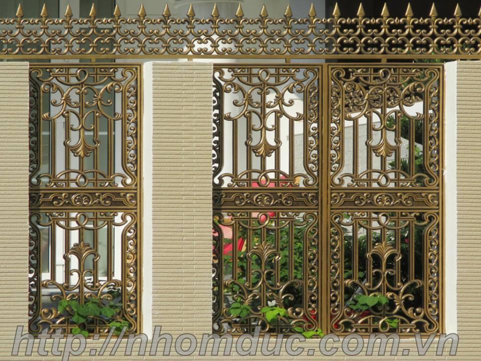 báo giá các loại hàng rào nhôm đúc hợp kim nhôm cao cấp. Hàng rào nhôm đúc có nhiều mức giá