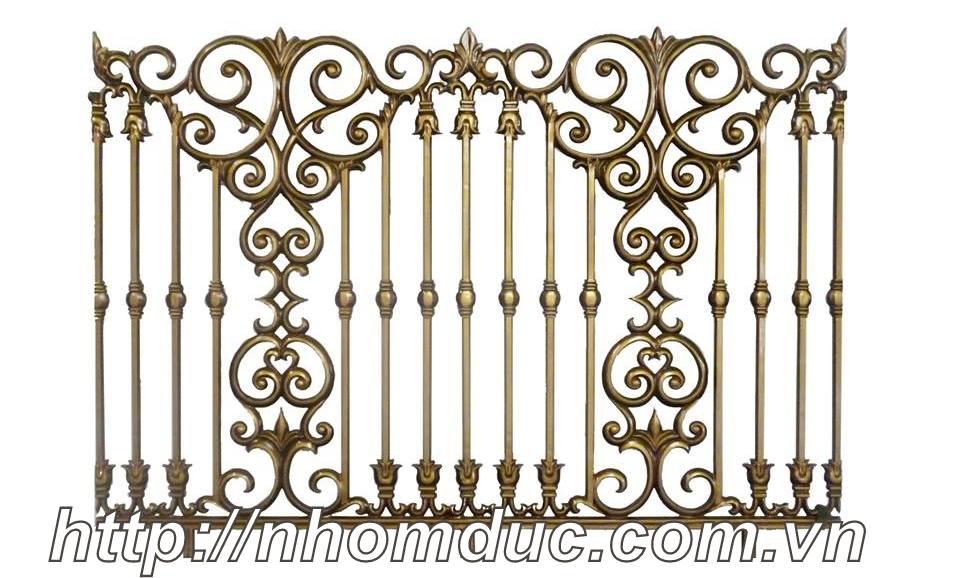 Hàng rào nhôm đúc biệt thự, hàng rào nhôm đúc được làm từ 96% nhôm. Hàng rào, cổng cửa nhôm đúc có chất lượng