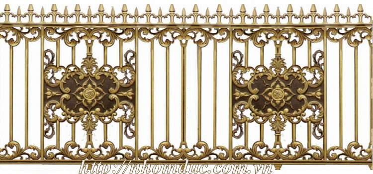 Hàng rào nhôm đúc - Hàng rào nhôm đúc biệt thự