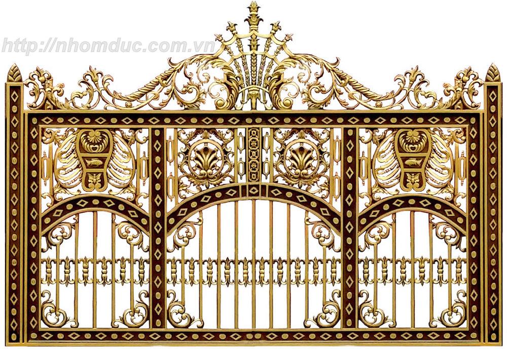 ửa cổng biệt thự nhôm đúc Fuco Thái Bình, cửa cổng biệt thự nhôm đúc Fuco Thái Nguyên