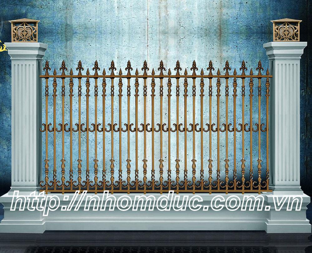 Hàng rào nhôm đúc hợp kim HR 117, Hàng rào biệt thự