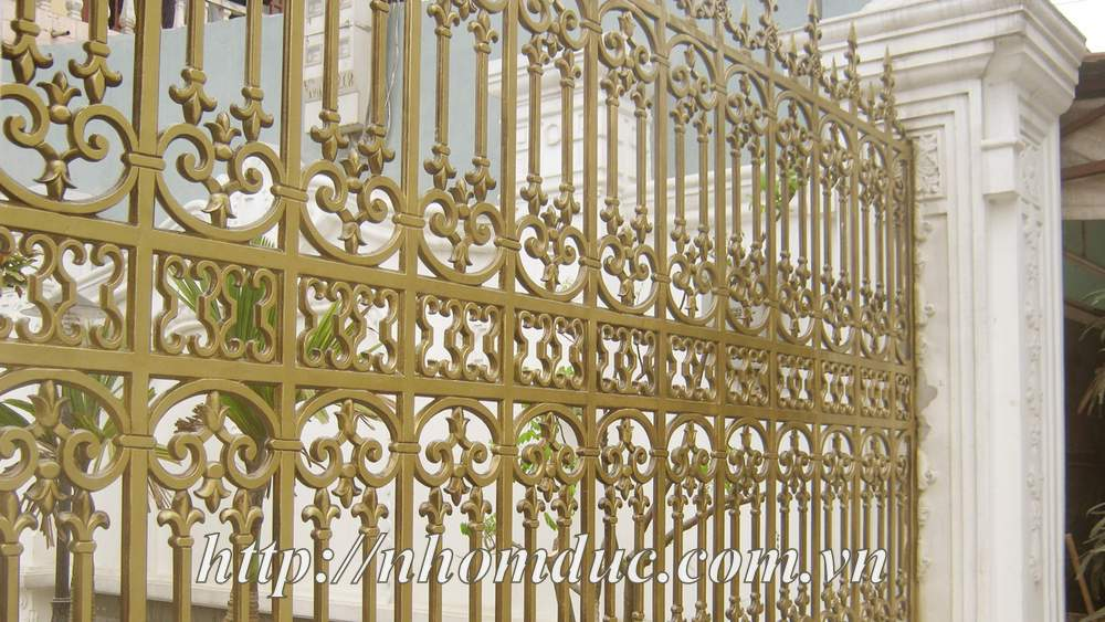 giá nhôm đúc Fuco tại Bạc Liêu, cửa cổng hợp kim nhôm đúc Bắc Ninh