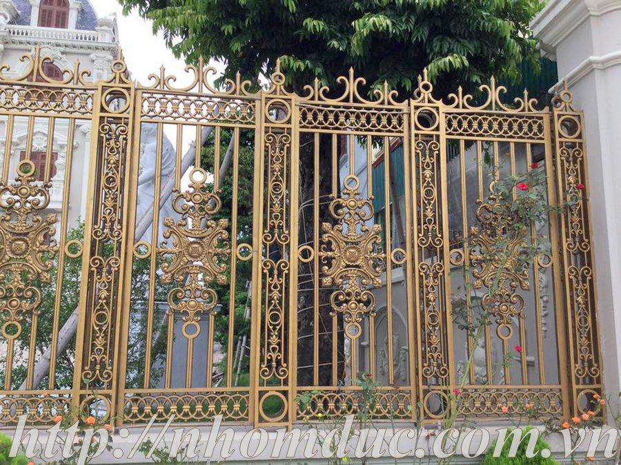ắp cổng nhôm đúc Fuco Thái Hòa, lắp cổng nhôm đúc Fuco Ninh Bình,lắp cổng nhôm đúc Fuco Tam Điệp