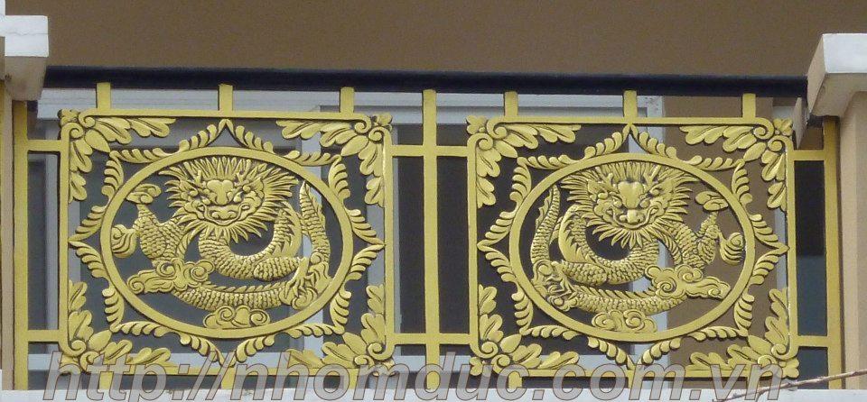 Báo giá lan can, hàng rào nhôm đúc hợp kim
