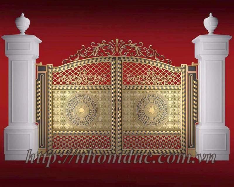 Nhôm đúc Fuco, chuyên sản xuất cửa nhôm đúc, cổng nhôm đúc và các loại lan can, cầu thang, bông gió nhôm đúc hợp kim