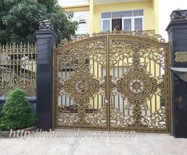 Cổng biệt thự Hà Nội, Báo giá cổng nhôm đúc Hà Nội