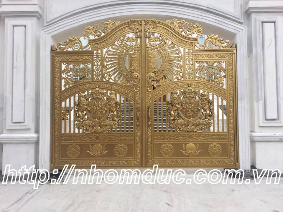 Cổng nhôm đúc ghép DG 144, Cửa cổng biệt thự
