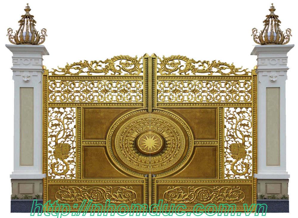 Thiết kế, Cổng nhôm đúc