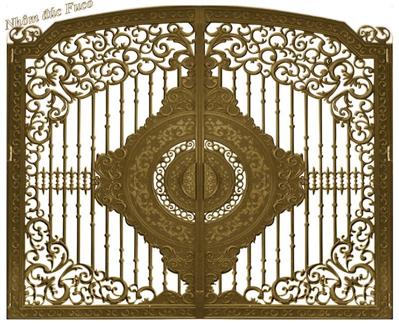 Mẫu thiết kế cửa nhôm đúc, Nhôm đúc Fuco