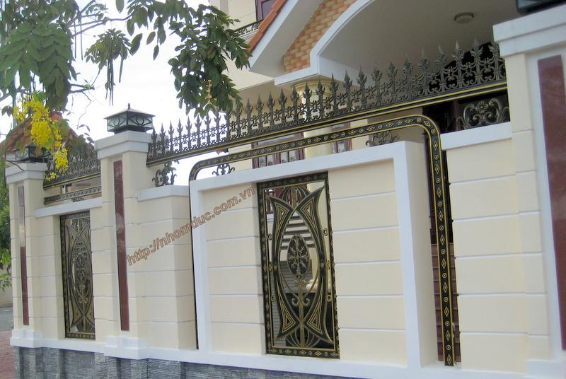 Báo giá cổng nhôm đúc Hà Nội