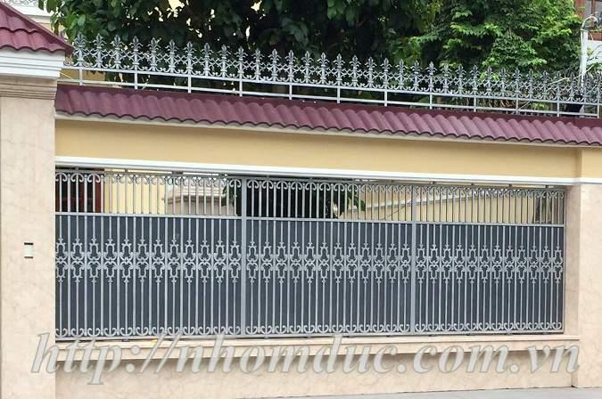 Báo nhôm đúc, các loại báo giá theo m2 và theo kg: cổng nhôm đúc