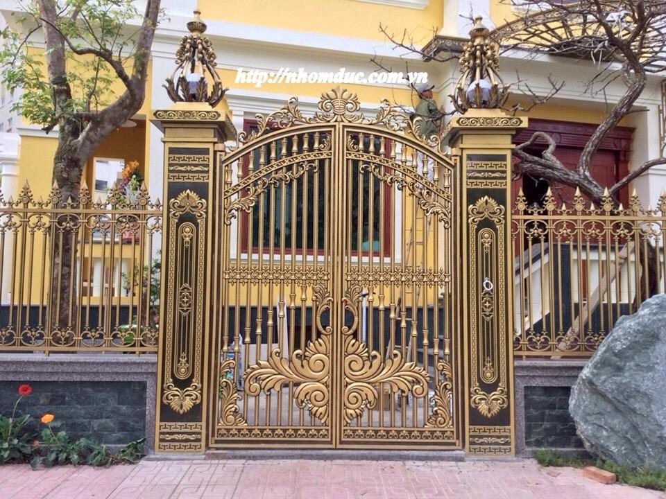 Cửa cổng hợp kim nhôm đúc, sản phẩm nhôm đúc công nghệ Nhật Bản. Nhôm đúc Fuco có nhiều tính năng nổi trội nhất hiện nay.