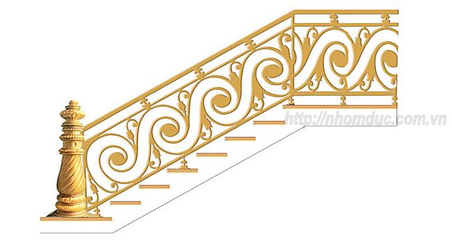 Sản phẩm cầu thang nhôm đúc sản xuất với quy trình được giám sát chặt chẽ.Áp dụng các công nghệ hiện đại nhất hiện nay