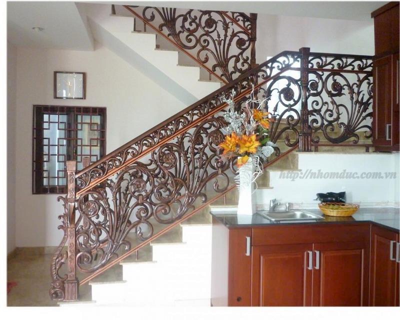 ầu thang nhôm đúc, Chuyên sản xuất, tư vấn, thiết kế, thi công cầu thang nhôm đúc bền đẹp. Cầu thang nhôm đúc Fuco có chất lượng cao nhất