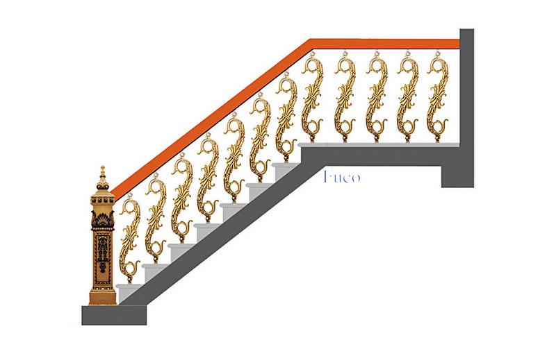 Báo giá cầu thang nhôm đúc, báo giá các loại cầu thang thẳng, cầu thang con tiện và cầu thang cong