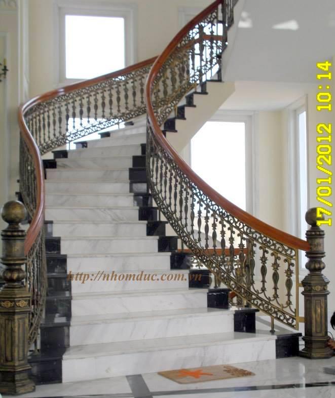 Cầu thang hợp kim nhôm đúc - Nhôm đúc Fuco