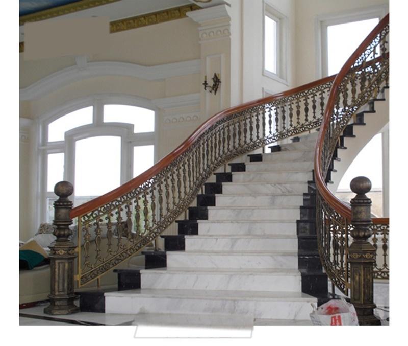 Báo giá lan can, hàng rào, cầu thang nhôm đúc hợp kim