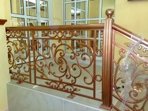 Cổng nhôm đúc, cầu thang nhôm