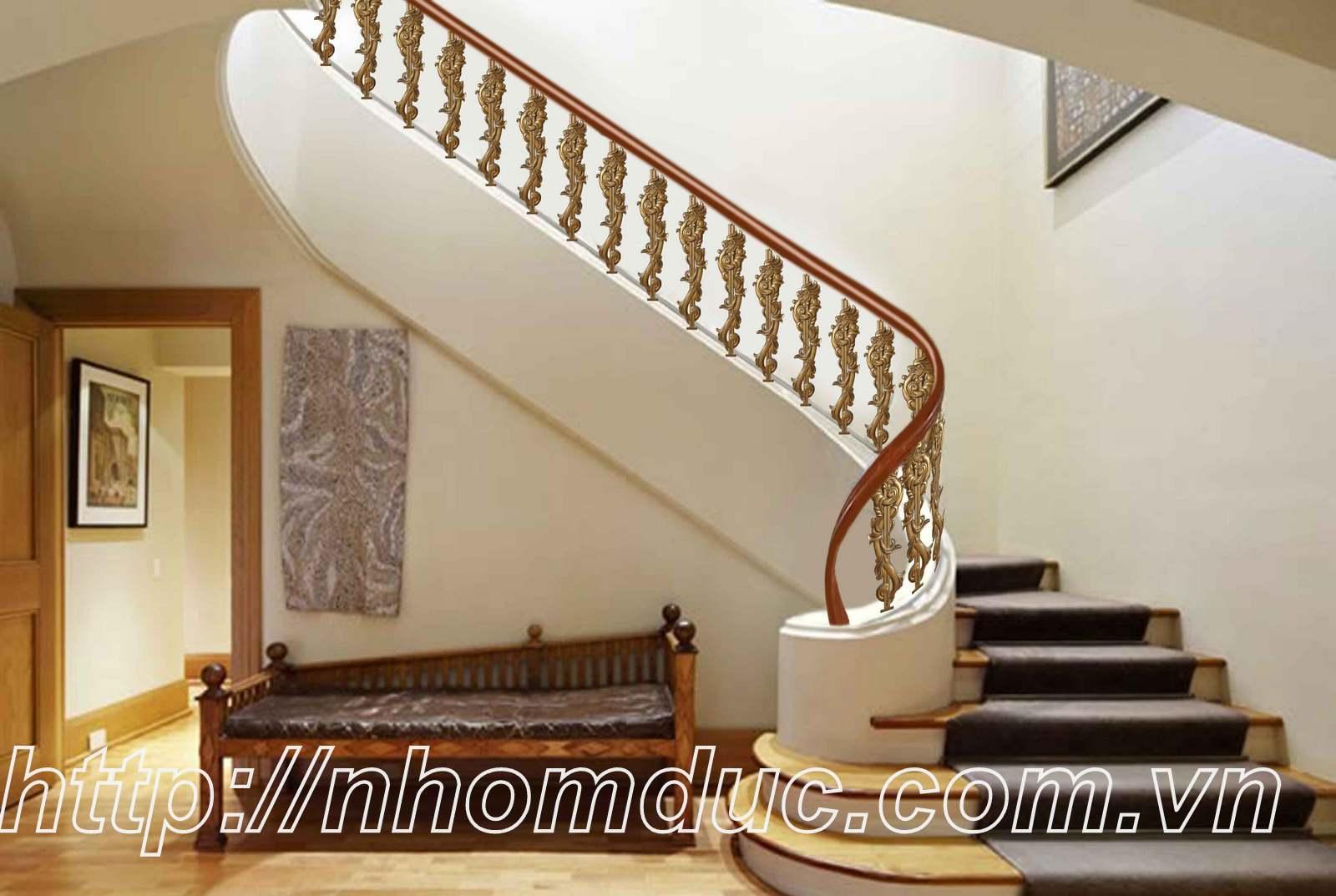 Cầu thang nhôm đúc CT 130