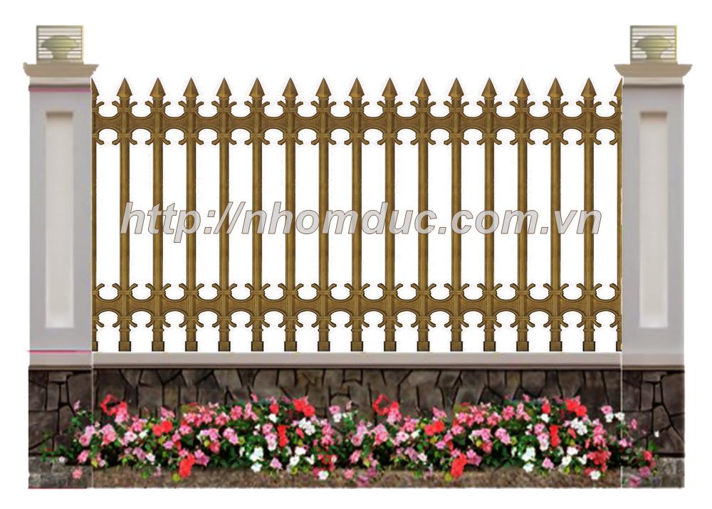 Bảng báo giá hàng rào nhôm đúc