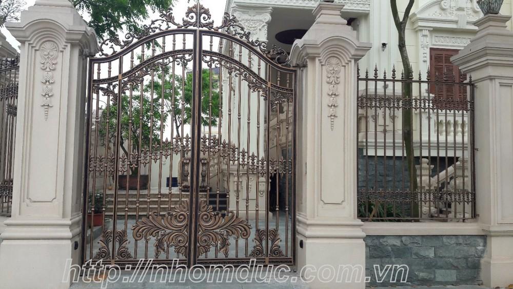99+ Mẫu Cửa Cổng Hợp Kim Nhôm Đúc Đẹp Nhất Cho Biệt Thự 2019