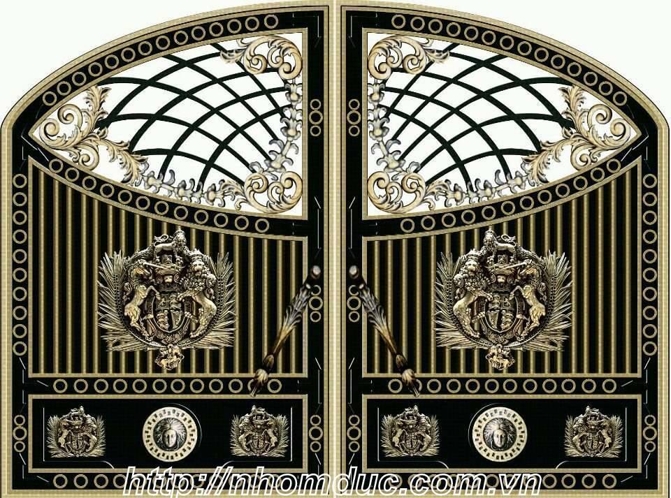 báo giá cổng nhôm đúc, giá cửa nhôm đúc