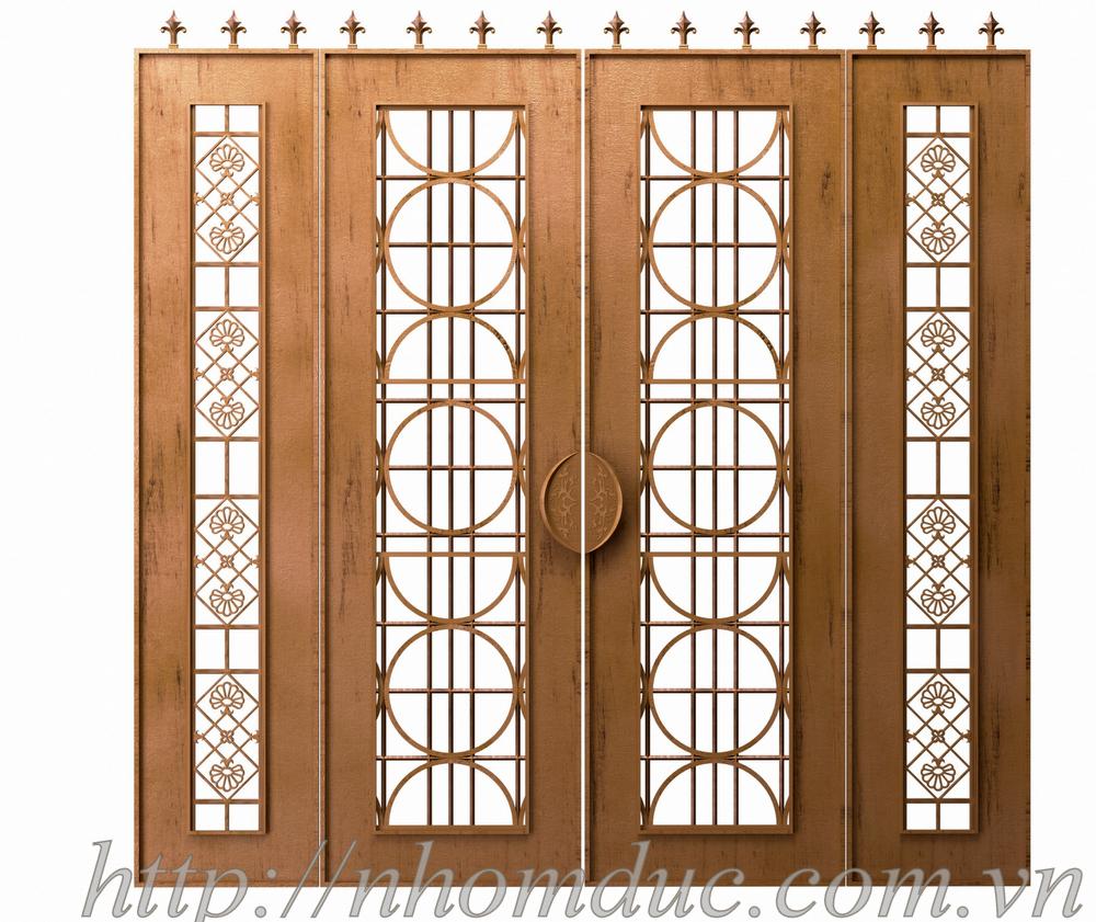 Cổng Nhôm Đúc Đẹp Giá Tốt Nhất Báo giá cổng nhôm đúc thoáng