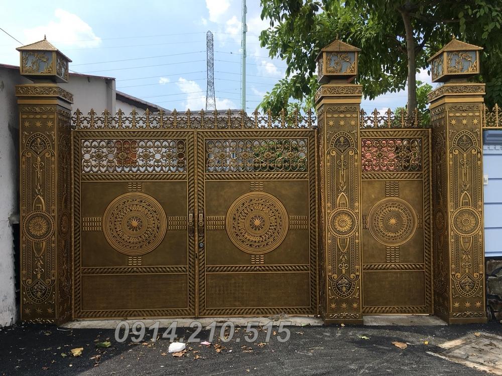 Cổng nhôm đúc Quận 2, TP Hồ Chí Minh