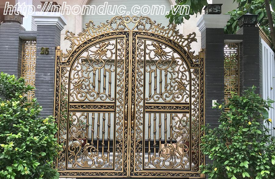 Cổng nhôm đúc Huyện Bình Chánh, Hồ Chí Minh