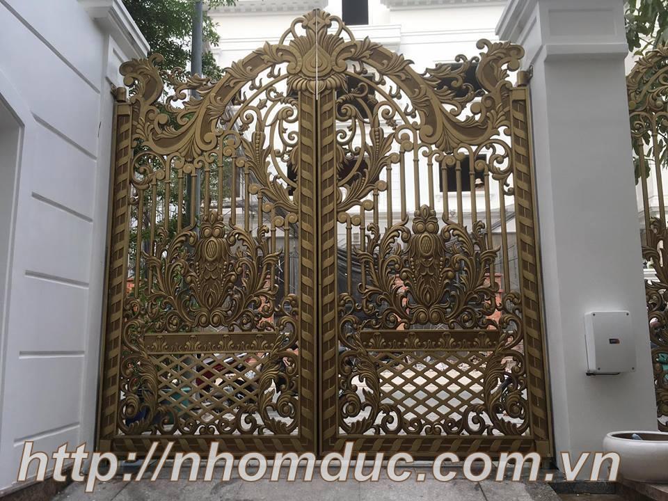 cổng nhôm hợp kim Hà Tĩnh, cổng nhôm hợp kim Hồng Lĩnh, cổng nhôm hợp kim Hải Dương, cổng nhôm hợp kim Chí Linh