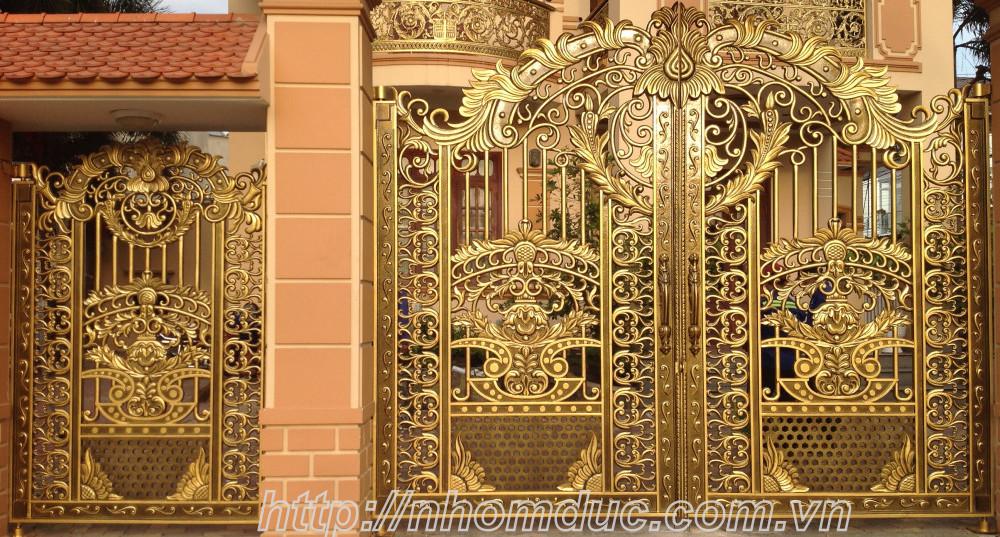 Cổng nhôm đúc, Công ty Fuco có nhiều cổng biệt thự