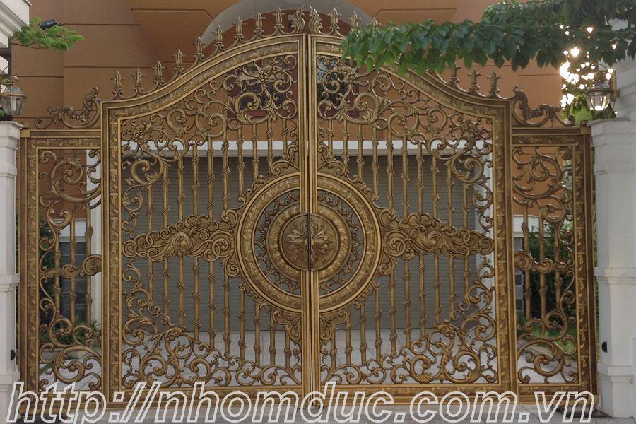 cửa cổng biệt thự nhôm đúc Fuco Sông Công, cửa cổng biệt thự nhôm đúc Fuco Thanh Hóa, cửa cổng biệt thự nhôm đúc Fuco Bỉm Sơn