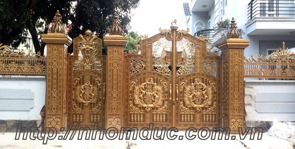 các dòng sản phẩm nhôm đúc như cửa nhôm đúc, cổng nhôm đúc, hàng rào nhôm đúc cao cấp cn Nhật Bản