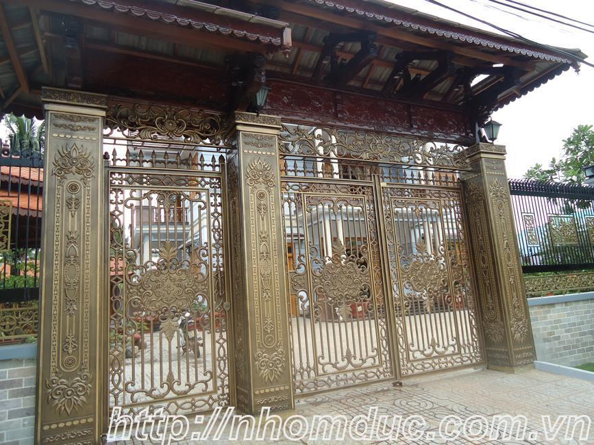 Sự khác biệt giữa cổng nhôm đúc Fuco