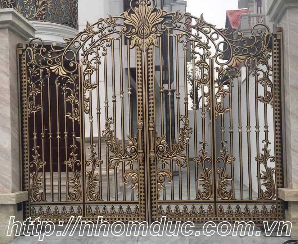 Cổng, cửa, lan can, hàng rào nhôm