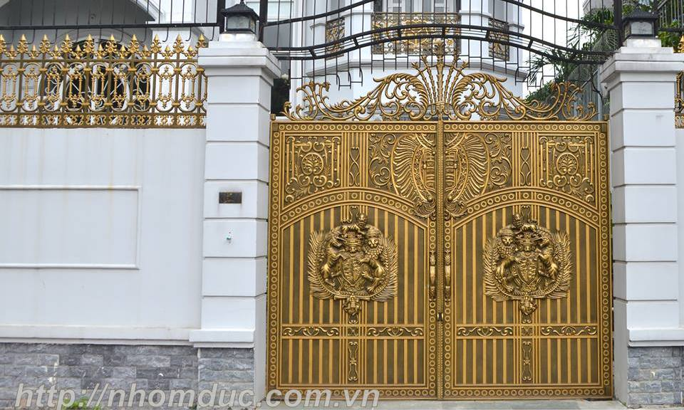Bảng báo giá cửa cổng đúc hợp kim