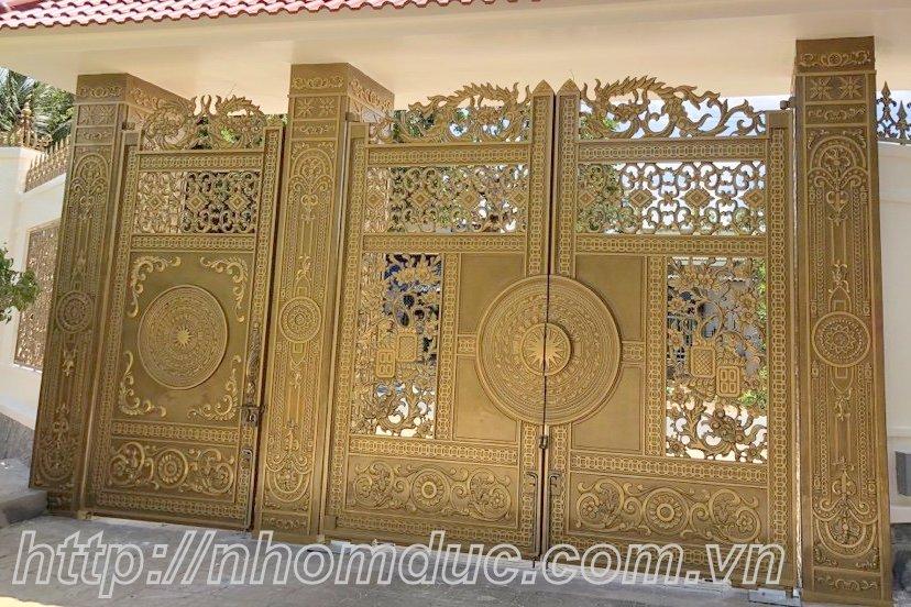 cửa cổng biệt thự nhôm đúc Fuco Tiền Giang, cửa cổng biệt thự nhôm đúc Fuco Mỹ Tho, cửa cổng biệt thự nhôm đúc Fuco Gò Công