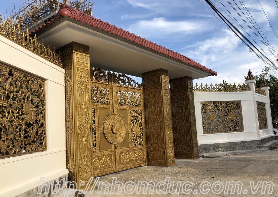 cửa cổng biệt thự nhôm đúc Fuco Cai Lậy, cửa cổng biệt thự nhôm đúc Fuco Trà Vinh, cửa cổng biệt thự nhôm đúc Fuco Tuyên Quang