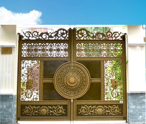Bảng báo giá cửa cổng đúc hợp kim nhôm