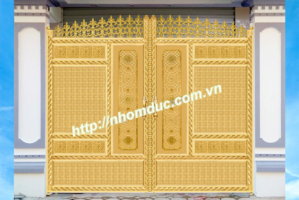 cổng nhôm đúc, hàng rào nhôm đúc, ban công nhôm đúc tại Nam Định chất lượng đỉnh cao.