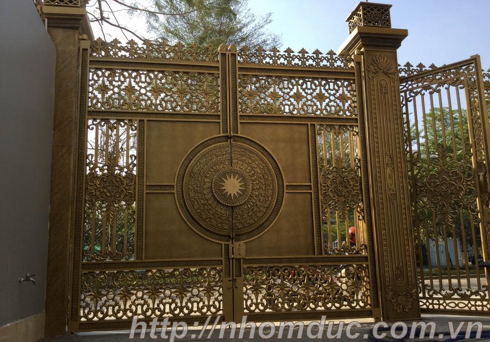 Tuyển tập những mẫu cổng nhà đẹp nhất năm 2017