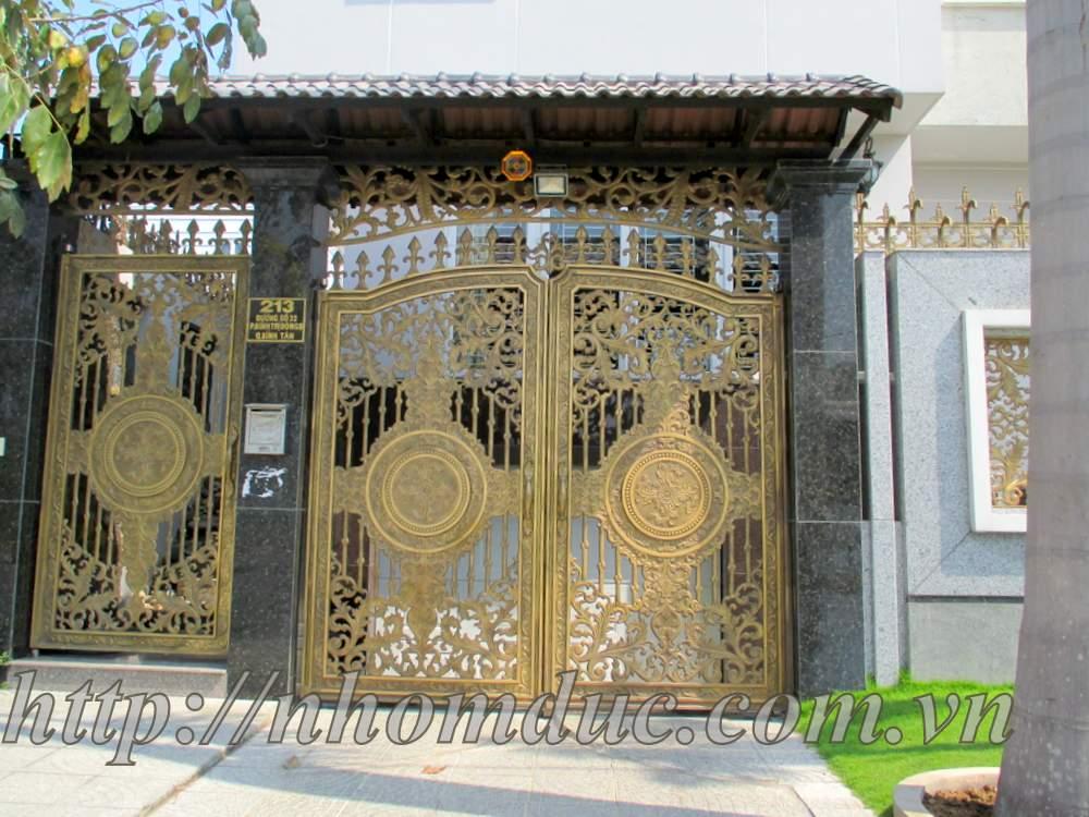 Cổng Nhôm Đúc tại Hà Nội