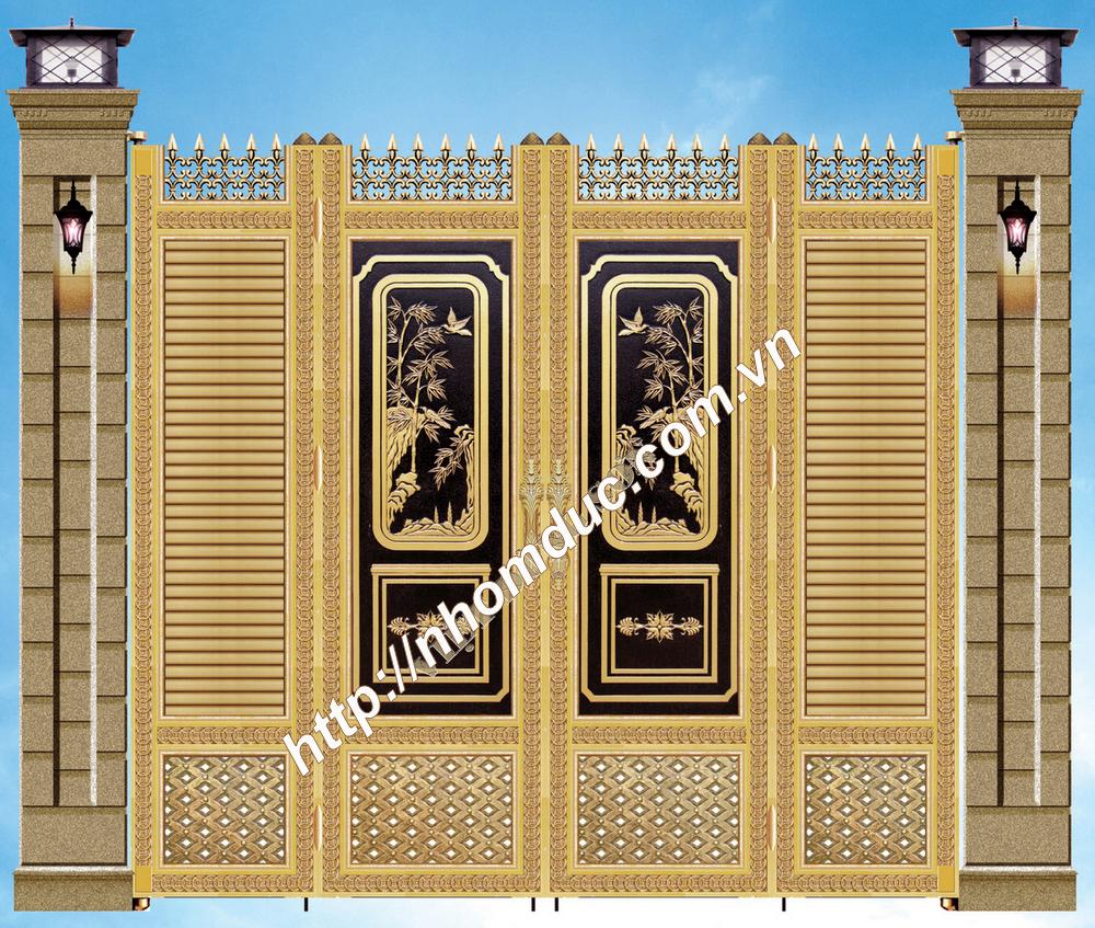 Các dịch vụ Thiết kế hợp kim nhôm đúc, Nhôm đúc biệt thự tại Hà Nội
