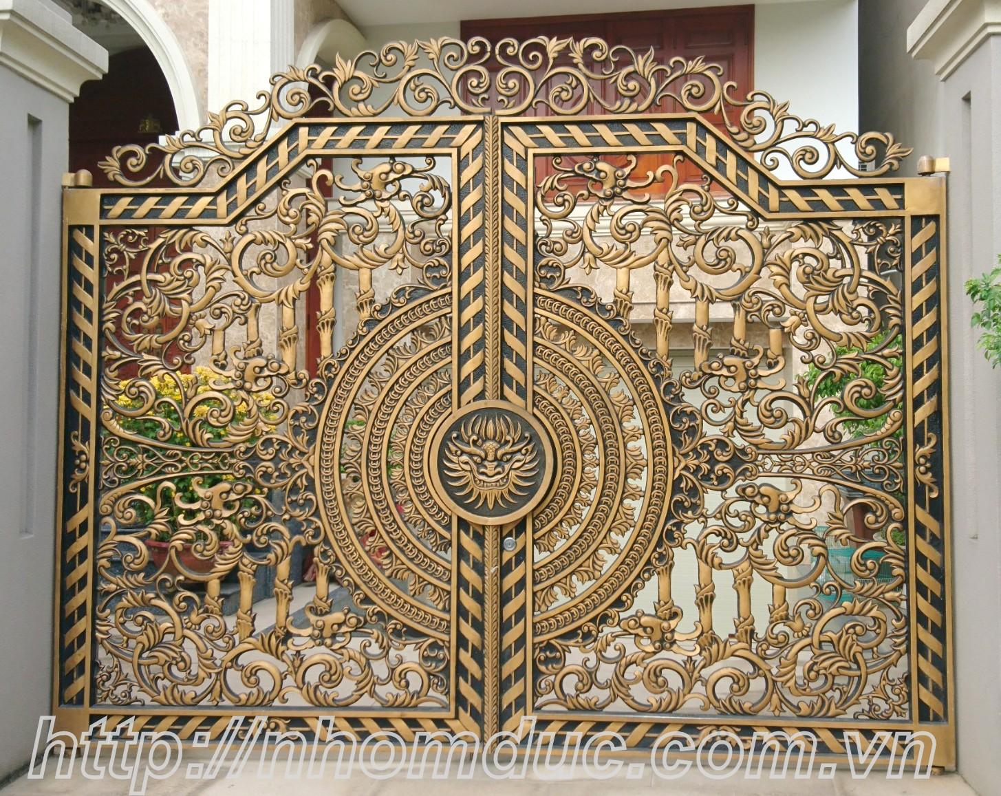 Mẫu cổng biệt thự đẹp nhất Hà Nội