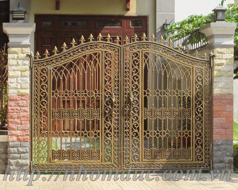 Mẫu cổng nhôm đúc đẹp by Công ty cổ phần nhôm đúc Fuco