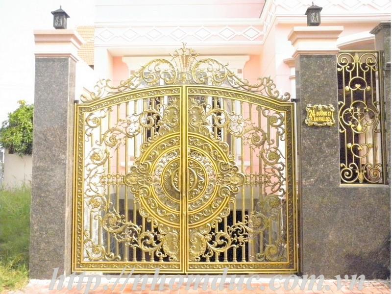 Mẫu cửa nhôm đúc GAT