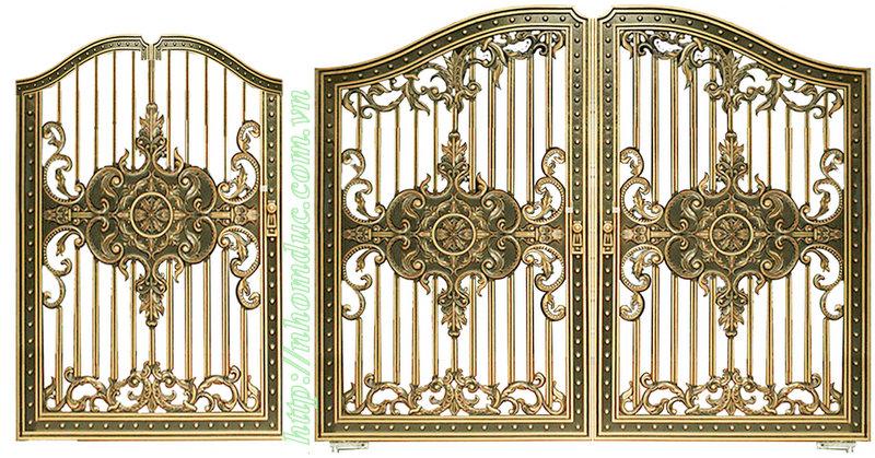 Cửa cổng, cổng đúc hợp kim nhôm